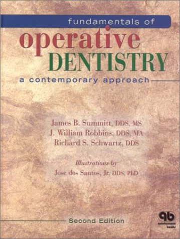 Fundamentals of Operative Dentistry A Contemporary Approach 2nd 2001 9780867153828 Front Cover