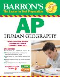Barron's AP Human Geography, 5th Edition  5th 2014 (Revised) edition cover