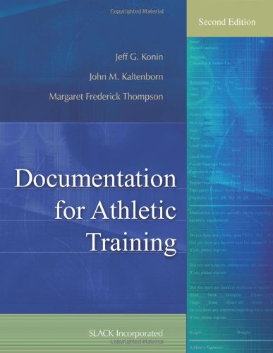 Documentation for Athletic Training  2nd 2011 edition cover