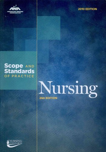 Nursing Scope and Standards of Practice 2nd 2010 9781558102828 Front Cover
