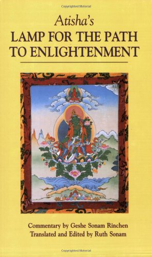 Atisha's Lamp for the Path to Enlightenment  N/A 9781559390828 Front Cover