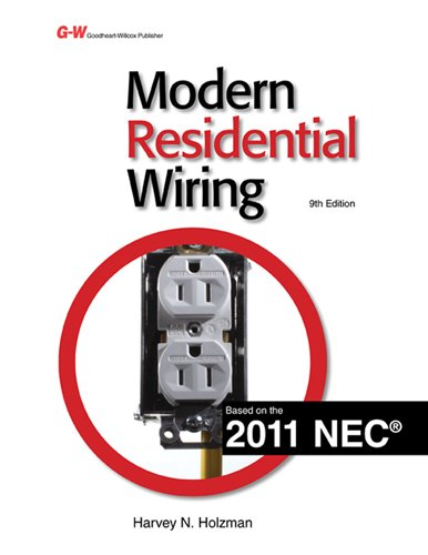 Modern Residential Wiring  9th 2011 edition cover