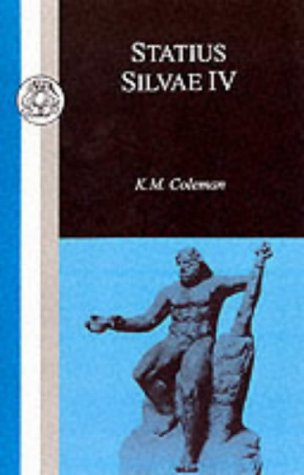 Statius - Silvae IV  N/A edition cover