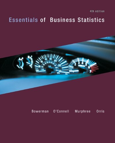 Essentials of Business Statistics  4th 2012 edition cover