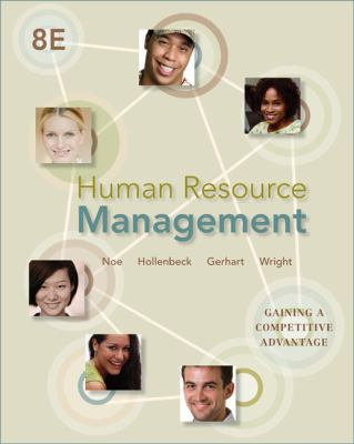 Human Resource Management  8th 2013 edition cover
