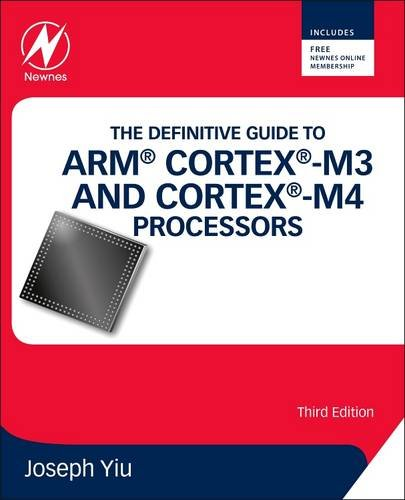 Definitive Guide to ARM� Cortex�-M3 and Cortex�-M4 Processors  3rd 2013 edition cover