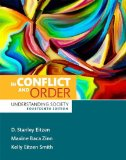 In Conflict and Order: Understanding Society  2016 edition cover