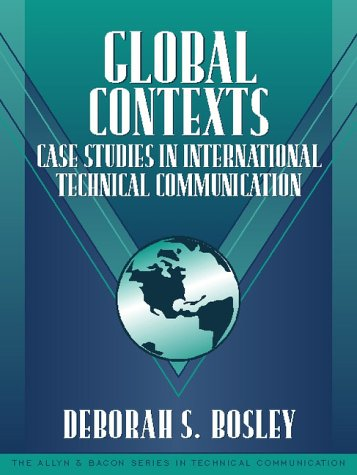 Global Contexts Case Studies in International Technical Communication  2001 edition cover