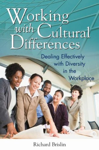 Working with Cultural Differences Dealing Effectively with Diversity in the Workplace  2008 edition cover