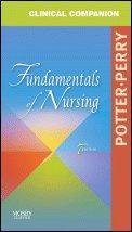 Clinical Companion - Fundamentals of Nursing  7th 2008 edition cover