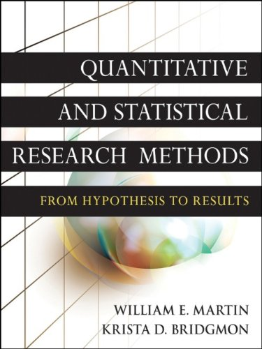 Quantitative and Statistical Research Methods From Hypothesis to Results  2012 edition cover