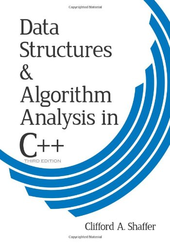 Data Structures and Algorithm Analysis in C++  3rd 2011 edition cover