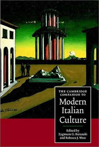 Cambridge Companion to Modern Italian Culture   2001 9780521559829 Front Cover