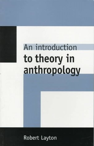 Introduction to Theory in Anthropology   1997 edition cover