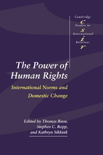 Power of Human Rights International Norms and Domestic Change  1999 edition cover