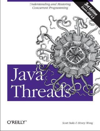 Java Threads  3rd 2004 9780596007829 Front Cover