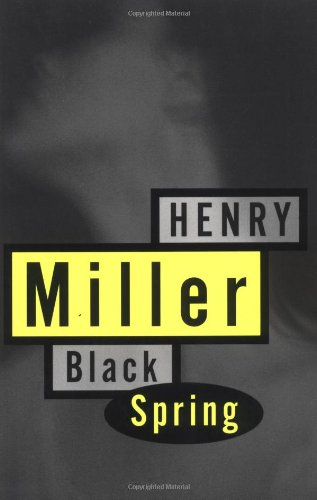 Black Spring   1963 edition cover