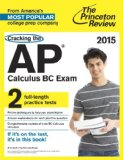 Cracking the AP Calculus BC Exam, 2015 Edition  N/A edition cover