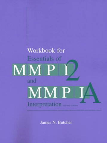 Essentials of MMPI-2 and MMPI-A Interpretation  2nd 2000 edition cover