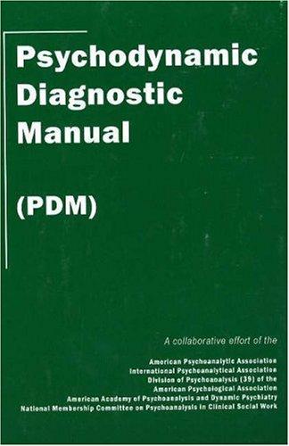 Psychodynamic Diagnostic Manual   2006 edition cover