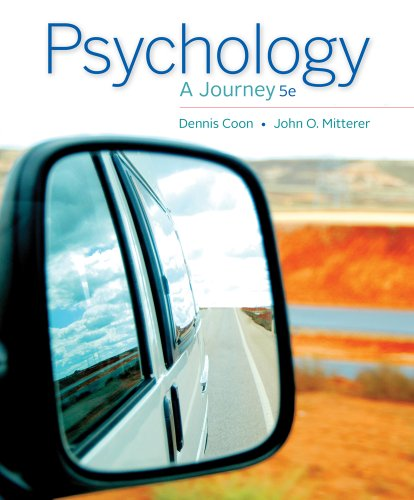 Psychology: A Journey  2013 9781133957829 Front Cover