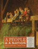 A People and a Nation -to 1877:   2014 edition cover