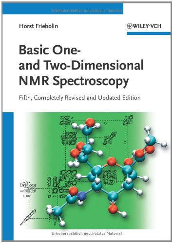 Basic One - And Two-Dimensional NMR Spectroscopy  5th 2011 edition cover