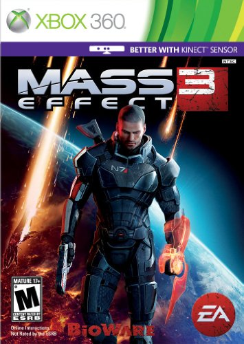 Mass Effect 3 Xbox 360 artwork