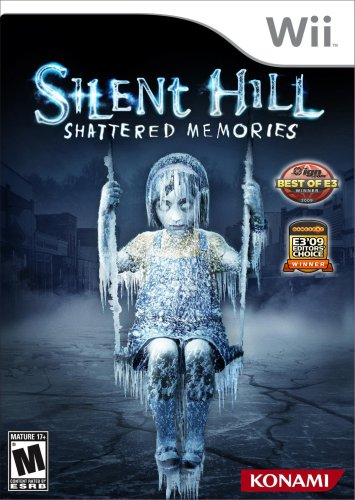 Silent Hill: Shattered Memories Nintendo Wii artwork
