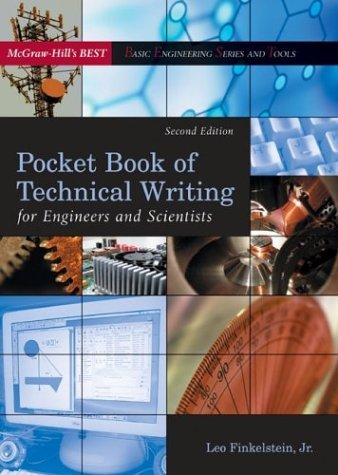 Pocket Book of Technical Writing for Engineers and Scientists  2nd 2005 9780072976830 Front Cover