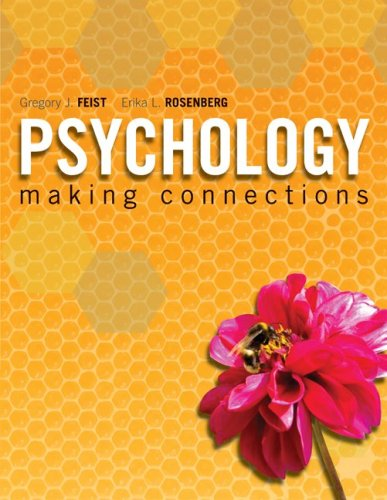 Psychology Making Connections  2010 edition cover