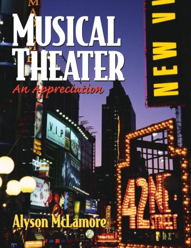 Musical Theater An Appreciation  2005 edition cover