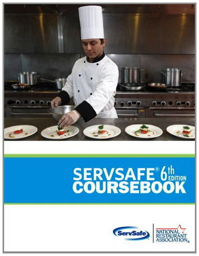 ServSafe Coursebook  6th 2013 (Revised) edition cover