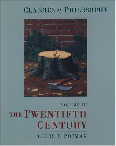 Classics of Philosophy The Twentieth Century  2000 edition cover