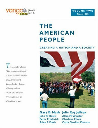 American People Creating a Nation and a Society  2009 edition cover