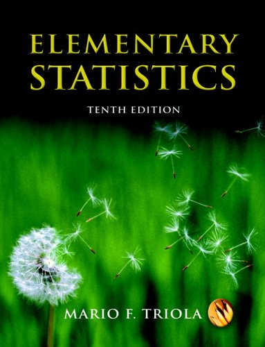 Elementary Statistics  10th 2007 (Revised) edition cover