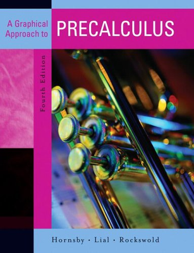 Graphical Approach to Precalculus  4th 2007 (Revised) edition cover