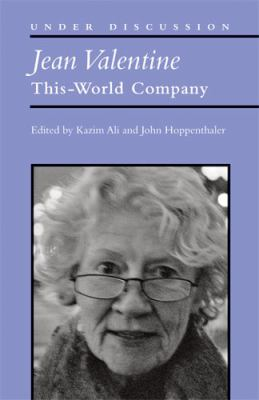 Jean Valentine This-World Company  2012 9780472051830 Front Cover