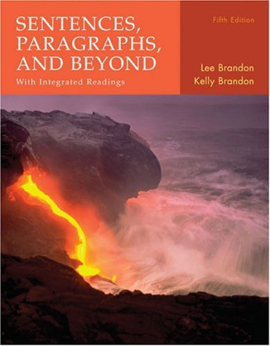 Sentences, Paragraphs and Beyond With Integrated Readings 5th 2008 9780618767830 Front Cover