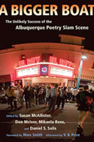 Bigger Boat The Unlikely Success of the Albuquerque Poetry Slam Scene  2008 edition cover