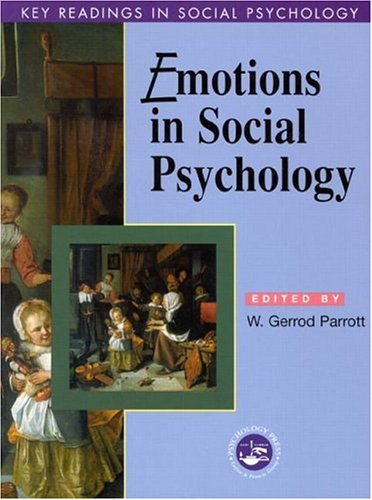 Emotions in Social Psychology Essential Readings  2001 edition cover