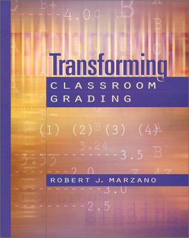 Transforming Classroom Grading   2000 edition cover