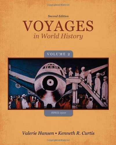 Voyages in World History - Since 1500  2nd 2014 edition cover