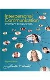 Interpersonal Communication: Everyday Encounters  2015 edition cover