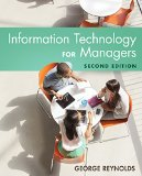 Information Technology for Managers:   2015 edition cover