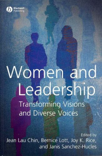 Women and Leadership Transforming Visions and Diverse Voices  2007 edition cover