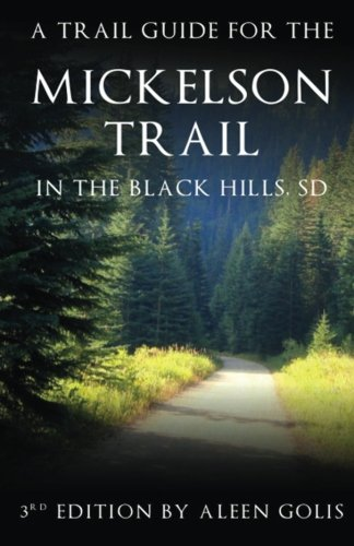Mickelson Trail Guide Book  N/A 9781494249830 Front Cover