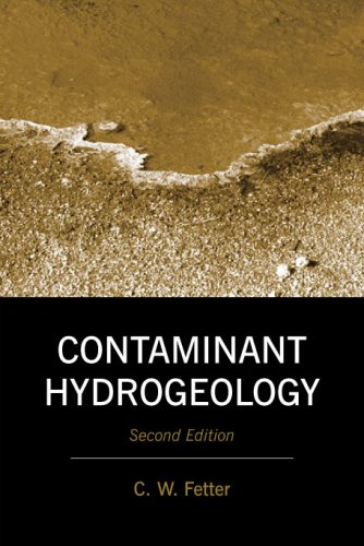 Contaminant Hydrogeology  2nd edition cover