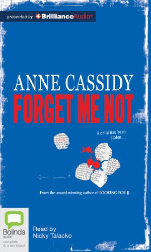 Forget Me Not:   2012 edition cover