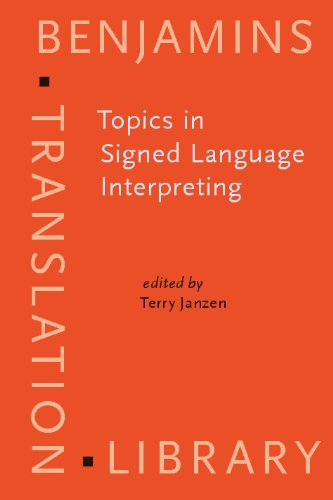 Topics in signed language Interpreting   2005 edition cover
